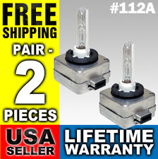 12000k Bulbs HID Xenon Low Beam Headlight Pair 2 Bulb D1S D1R D1C 12000 k 112A