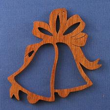 Bells Christmas Ornament - hand cut