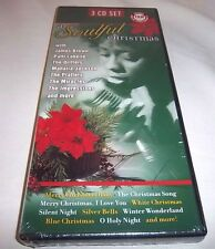 SOULFUL CHRISTMAS-JAMES BROWN/PATTI LABELLE/DRIFTERS/ETC. 3 DISCS NEW SEALED CD