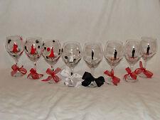 New Custom 20oz wedding toast set of 8 toasting glasses Maid of Honor Bestman