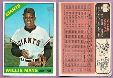 1966 Topps Willie Mays San Francisco Giants #1