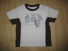 Boys Aged 4 Years White / Brown Top by Baby Gap