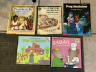 LOT+of+5+fictional+books+about+animals+teacher+elementary+children+picture+books