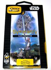Disney Authentic Star Wars iPhone 7 Plus 8+ OtterBox✿ Rey R2D2 Millennium Falcon