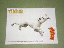 tintin (milou) magnet promotionnel PITCH 6 CM SUR 8 CM  /reglement par cheque