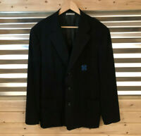 Belvest Women's Per Donna Lewis Blue Blazer Sport Coat ITALY Size IT 56 | US 20