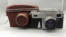 +1963 Vintage USSR KIEV 4 Rangefinder Film Camera Jupiter 8M Lens + Case!Contax