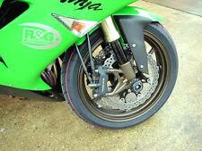 R&G Racing Fork Protectors to fit Kawasaki ZX10R 2006-2007
