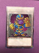 Custom Yugioh Token Thanos Infinity Glove Chibi NM Yu-Gi-Oh! ORICA Ultra Rare