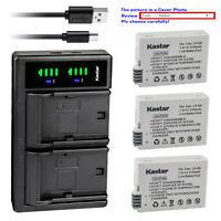 Kastar Battery LTD2 USB Charger for Canon LP-E8 LC-E8 Canon EOS Rebel T5i Camera