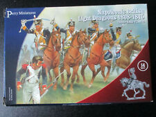 NEW, 28MM, PERRY, NAPOLEONIC LIGHT DRAGOONS FIGURES