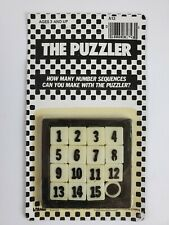 The Puzzler - Number Slide puzzle - NOS - Made in China
