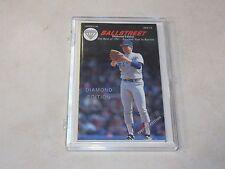 1991 Nolan Ryan Ballstreet Journal - DIAMOND EDITION Plastic Case Free Shipping