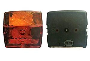 2x Rückleuchte Blinker Positiosleuchte Anhänger LKW Traktor mit 24V Glühbirnen