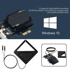 Wireless Network Card Antenna 3000M WiFi 6 Pcie Signal Dual Frequency Gaming UK