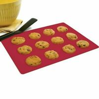 "Norpro 12"" x 16"" High Heat Silicone Reusable Baking Mat - Cookies Rolls Pastries"