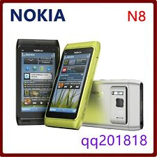 Nokia N Series N8 16GB - Dark Gray (Unlocked) camera WiFi 12MP 3GSmartphone