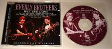 EVERLY BROTHERS : BYE BYE LOVE - LIVE AT ALBERT HALL 1983  CD Album Ex/Mint.