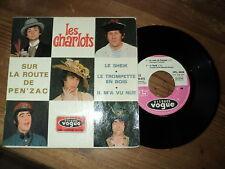 """LES CHARLOTS / SUR LA ROUTE DE PEN'ZAC (1968) 7"""" french E.P"""