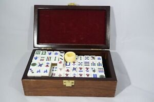 Small Mini Mahjong 麻将 Game Great condition