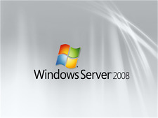 Microsoft Windows Server standard 2008 R2 Bit/64 Full version