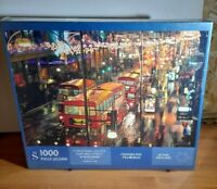 WH Smith Christmas Lights Oxford Street 1000 Piece Jigsaw Puzzle new sealed
