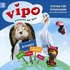 """VIPO ENTDECKT DIE WELT """"02 SCHNEE MIT SCHOKOLADE"""" CD"""