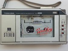TOSHIBA Walkman KT-R1 Stereo Cassette Recorder Not Working Japan Repair Parts