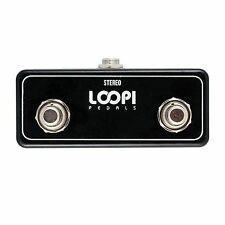 Loopi Pedals Dual Soft Footswitch for use with BeatBuddy Guitar Drum Machine