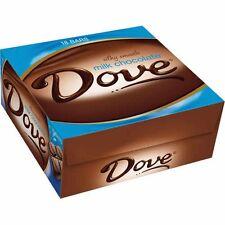 Dove Milk Chocolate, 1.44 oz each Dove, Milk Chocolate Candy 18 ct Bars
