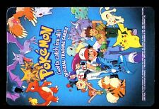 POKEMON English TOPPS CARD ROUNDED CORNERS # CHECKLIST PIKACHU GROWLITHE Etc...