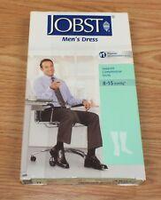 Jobst 8-15mmHg Large Knee High Men's Dress Support Compression Khaki Socks