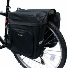 Bicycle Pannier Bag Rear Double Seat Trunk Handbag Reflective Strip Bike 28 L