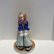 1987 Reco Ceramic Clown Figurine Mr. Lovable By J. McClelland