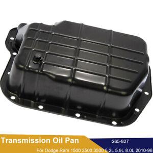 Transmission Oil Pan For Dodge Ram 1500 2500 3500 B1500 5.2L 5.9L w/ Drain Plug