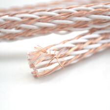 Viborg 12TC Teflon OCC Speaker Cable HIFI Audio Wire Power Cord DIY 24Strand