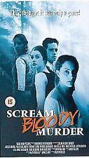 Scream Bloody Murder (2000) Horror VHS Video AKA Bloody Murder