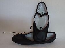 American Ballet Theater ABT Girls Slippers Shoes 2 1/2 2.5 Black Spotlights NEW
