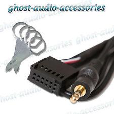 FORD S-MAX Adaptateur entrée AUX IN pour iPod MP3 avec démontage radio broches