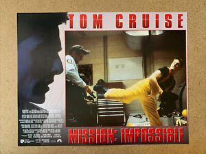 Mission: Impossible Original Set Of 9 UK 14 x 11 Lobby Cards Tom Cruise