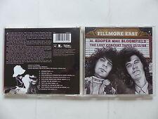 CD Album AL KOOPER & MIKE BLOOMFIELD Fillmore east : The lost concert Blues Rock