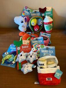 Bark Box Medium and Large Stuffed Plush Dog Toys