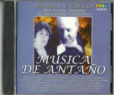 Musica Del Antano Pampa Y Cielo Latin Music CD New