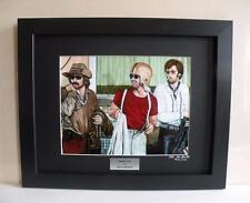 Easy Rider Motorcycle Art Ltd Edition Signed Framed Print w/COA - Painting by JG