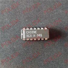 10PCS Comparator IC HARRIS/INTERSIL/RCA DIP-14 CA339E