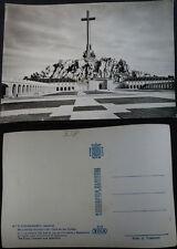 ANTIGUA POSTAL 1959 VALLE DE LOS CAIDOS LA CRUZ CON AGUILA DE SAN JUAN   CC04264