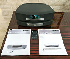 Excellent Bose Wave Music System With Multi Cd Changer & Remote & Manuals Bundle