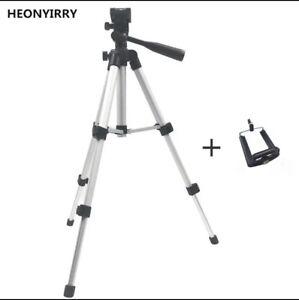 Professional Foldable Camera Tripod Holder Stand Scew 360 Degrees Fluid Head