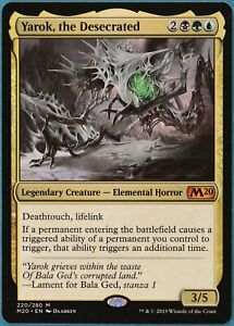 Yarok, the Desecrated Core Set 2020 / M20 NM Mythic Rare CARD (230847) ABUGames