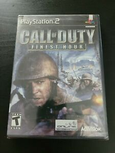 PS2 Call of Duty: Finest Hour 1st Print PlayStation 2 New Factory SEALED